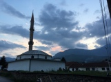 Mosque in village