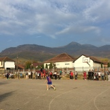 Sports day at school